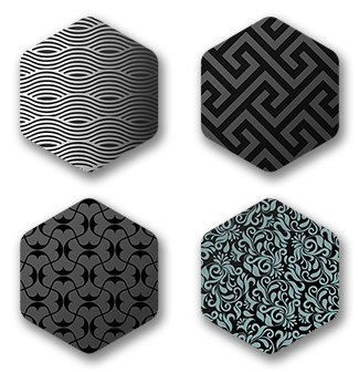 Hexagon (Geometric pattern) Preview - tiny