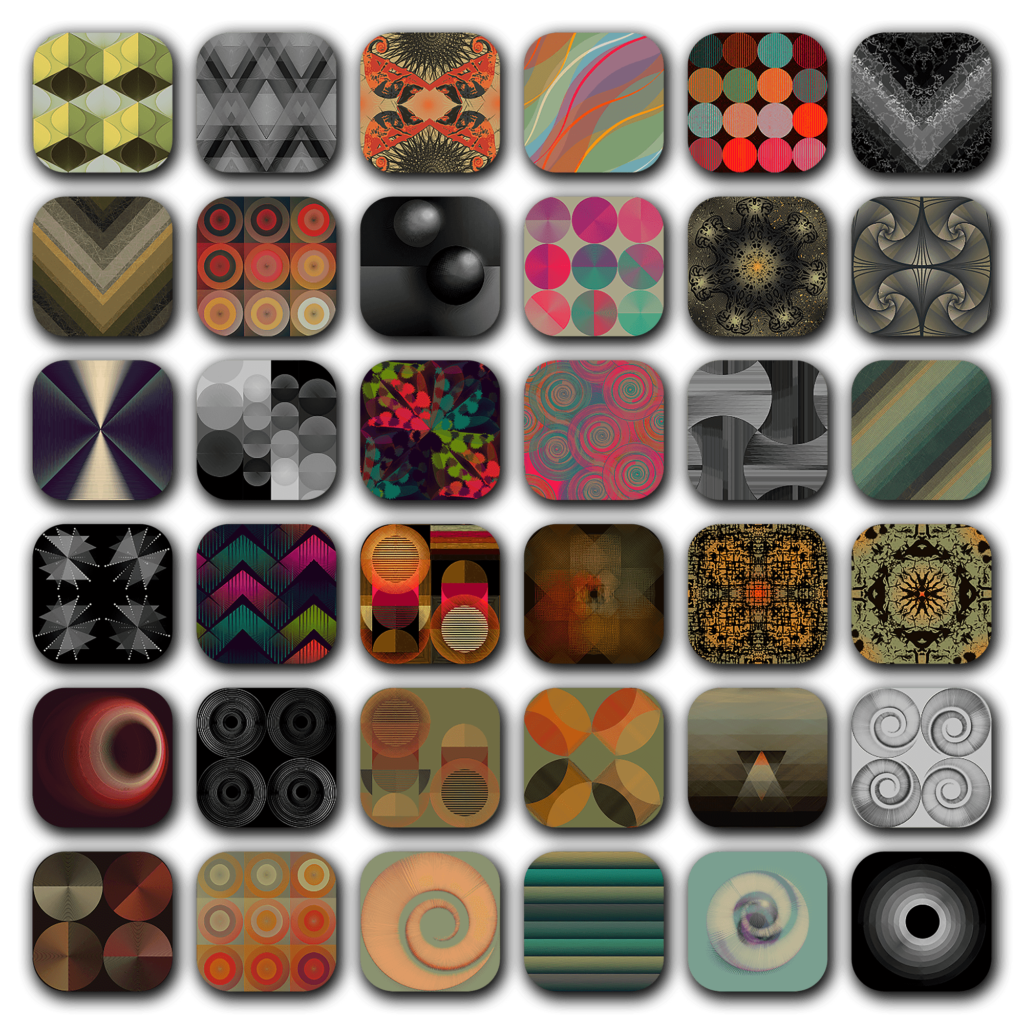 ColourLovers Pattern Icon Pack (IOS Like)