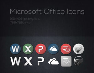 MS Office Icons - Preview