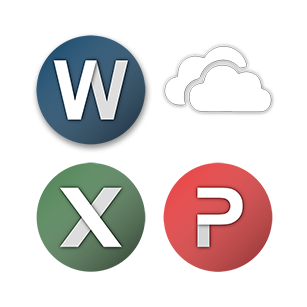 Microsoft Office Icons pack Preview - Snippet