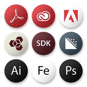 Adobe Icon Set - Snippet